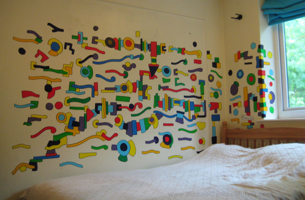 Michael Carlton Art Bedroom Mural